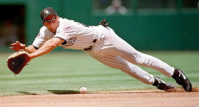 Walt Weiss, the 1988 AL Rookie of the Year, played shortstop for Colorado from 1994-97. (Getty Images)