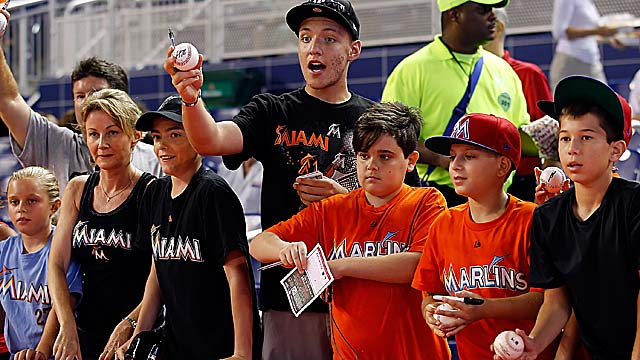 Fans will hardly recognize their Marlins next season after trades. (Getty Images)