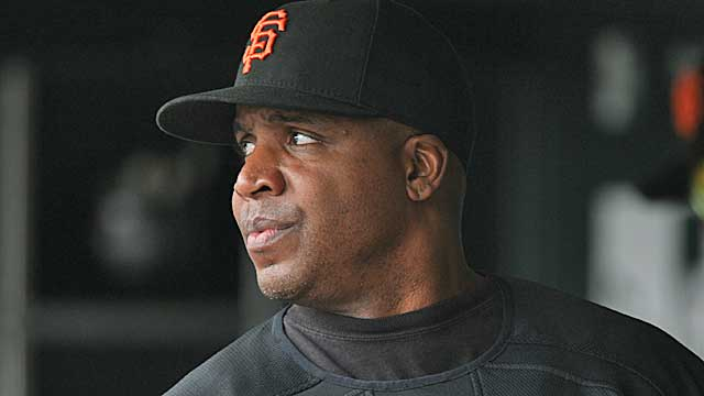 Barry Bonds' records -- and his Hall of Fame case -- remain clouded by his links to steroids. (Getty Images)