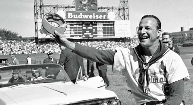 Stan Musial won seven batting crowns and the enduring adoration of St. Louis baseball fans. (AP)