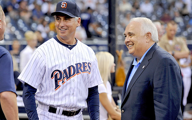 Padres manager Bud Black will have one of baseball's cheapest rosters under new owner Ron Fowler. (Getty Images)