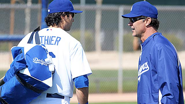Don Mattingly (right) and the Dodgers hope they can win after spending $200M this winter. (US Presswire)