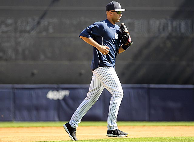 Jeter didn't play in the Yankees' camp opener, but should be ready for opening day. (USATSI)