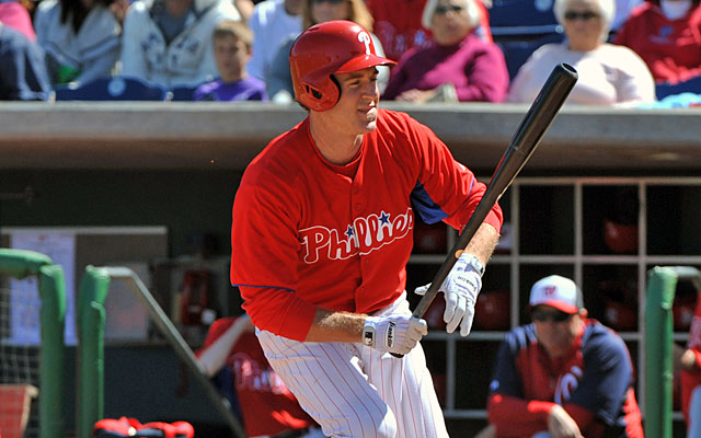 Chase Utley, plunked vs. the Nats on Wednesday, says Phillies pitchers need to be more attentive. (Getty Images)