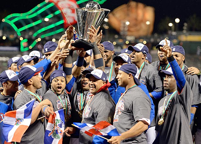 The Dominican Republic goes 8-0 in the 2013 WBC and outscores its opponents 36-14. (Getty Images)