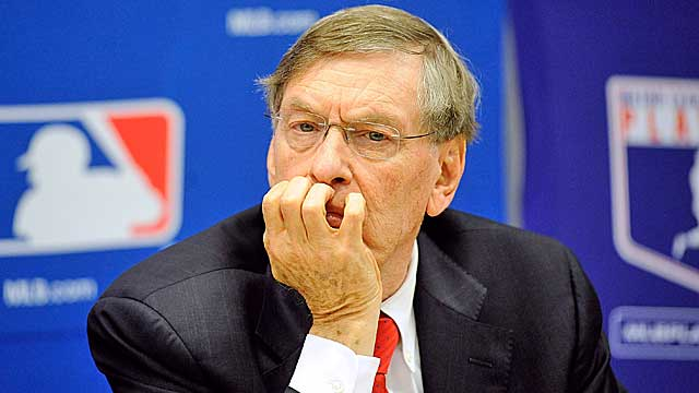 Selig has taken plenty of criticism for the Steroid Era happening under his watch. (Getty Images)