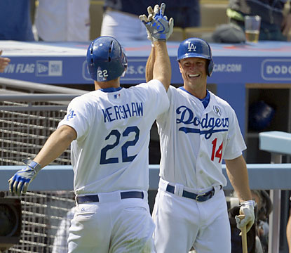 Clayton Kershaw becomes the first pitcher to homer and throw a shutout in an opener since Bob Lemon in 1953. (AP)