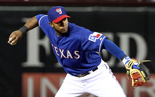 Elvis Andrus' new contract will leave the Rangers with more options. (USATSI)