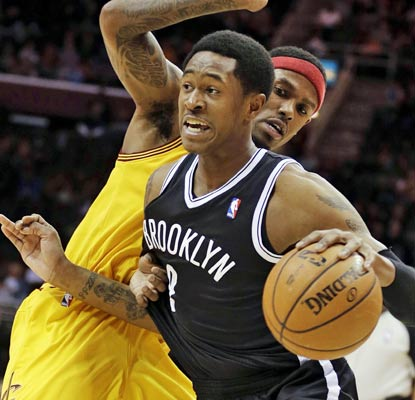 Brooklyn's MarShon Brooks nails his first 10 shots on his way to a career-best 27 points.  (AP)