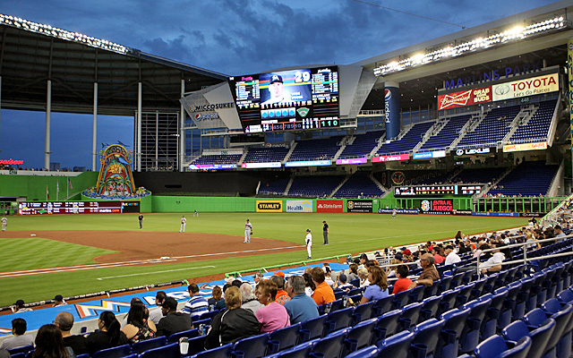 The Marlins' expensive new ballpark might be completely empty by the end of the season. (Getty Images)