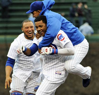 Starlin Castro salvages the afternoon for the Cubs with a game-winning double in the bottom of the ninth inning.  (USATSI)