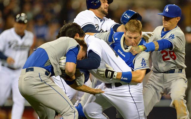Carlos Quentin and Zack Greinke's history hit the boiling point in San Diego. (USATSI)