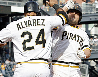 Backup catcher Michael McKenry comes through with the first two-homer game of his four-year major league career. (Getty Images)