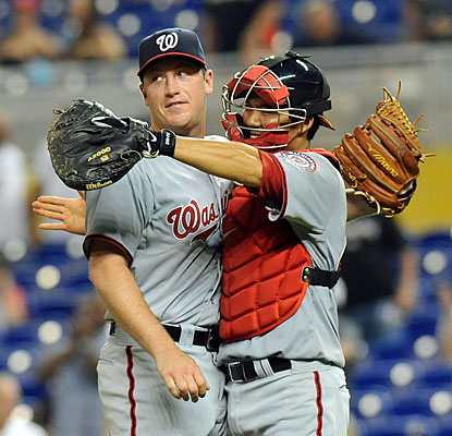 Jordan Zimmermann tosses his second career complete game as the Nats bounce back after being swept over the weekend. (USATSI)