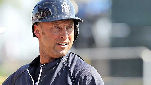 Jeter will resume rehab when the new crack in his ankle heals. (USATSI)
