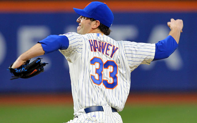 Matt Harvey's numbers are unreal so far: 4-0 record with a 0.93 ERA. (USATSI)