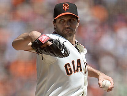 Barry Zito rebounds from the worst outing of his major-league career and shuts out the Padres for seven innings.  (Getty Images)