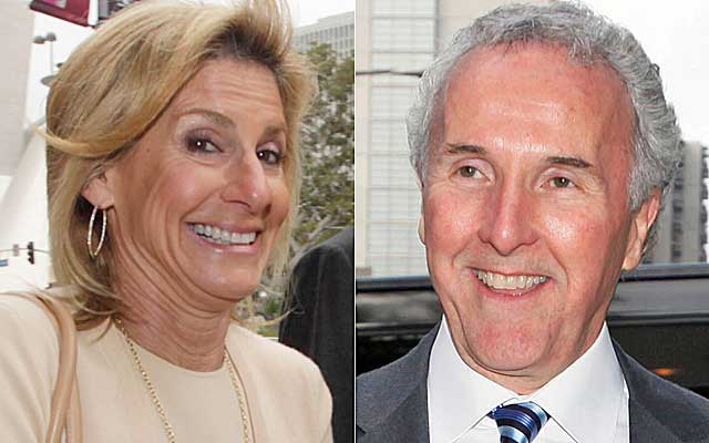 Jamie McCourt claims her ex-husband misled her about the value of the Dodgers. (AP)