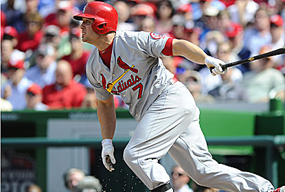 Matt Holliday goes 3 for 4 as the Cards win the series from Washington, the team they beat in last year's NLDS. (USATSI)