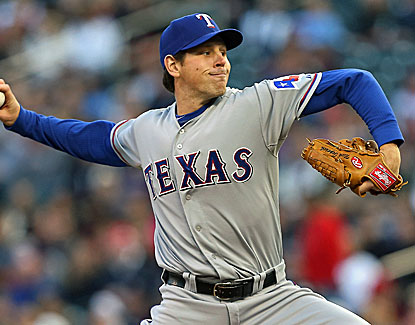 Rangers starter Nick Tepesch pitches six strong innings for his second win of the young season. (USATSI)