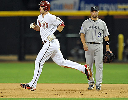 Paul Goldschmidt's two-run home run in the fourth inning powers the Arizona Diamondbacks against the Rockies. (USATSI)