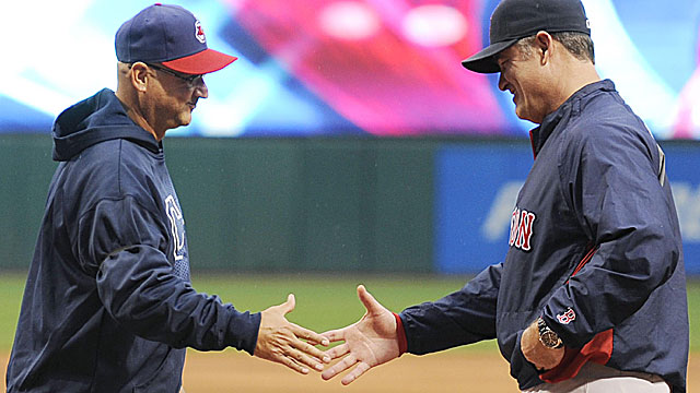 Terry Francona and John Farrell are two of five current managers who were with the Indians 1988 team. (USATSI)