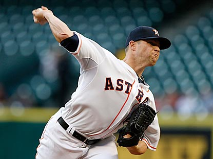 With eight strong innings, Houston's Bud Norris improves to 3-1 at home and lowers his home ERA to 2.30.  (Getty Images)