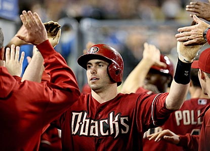 Paul Goldschmidt finishes the Dodgers series with a flair and winds up with four home runs and nine RBI in the three games.  (Getty Images)