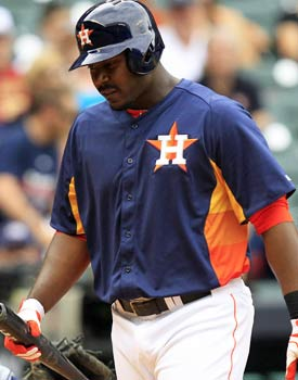 Houston's Chris Carter is already more than halfway to 100 strikeouts just six weeks into the season. (USATSI)