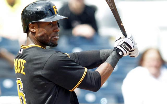Starling Marte has impressed with his speed and power. (USATSI)