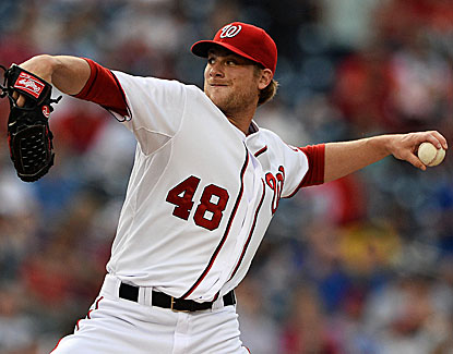 Washington starter Ross Detwiler gives up two runs in 6 2/3 innings before Craig Stammen gets the last seven outs. (USATSI)