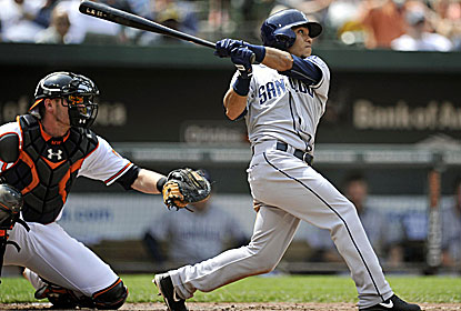 Alexi Amarista homers and doubles twice as SD matches its season high in hits and records its fourth series sweep of '13. (USATSI)