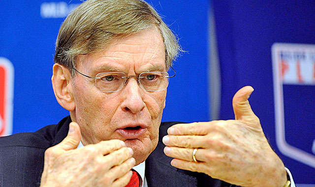 Bud Selig says he's making no predictions that expanded replay arrives next season. (Getty Images)