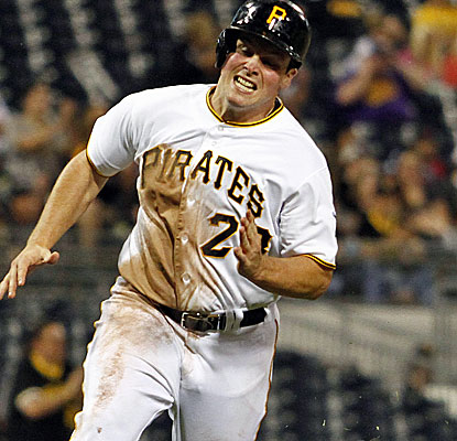 Travis Snider homers for the first time in nine months and drives in three runs for the Pirates. (Getty Images)