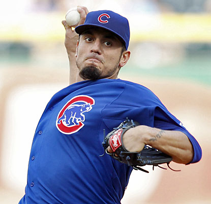Matt Garza, sidelined since July 10, throws five shutout innings, but his bullpen squanders his chance to earn the W. (USATSI)