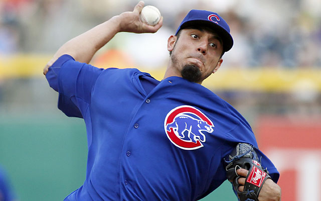 The Cubs have a valuable trade chip in Matt Garza so long as he can stay healthy. (Getty)