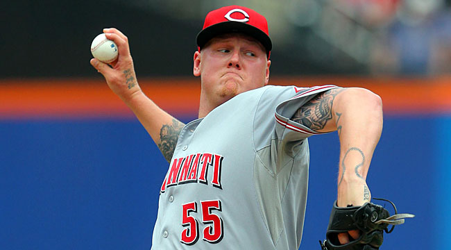 Follow LIVE: Reds' Latos duels Mets' Harvey