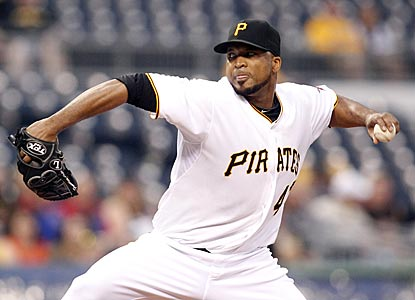 Francisco Liriano (3-0, 1.00 ERA) has been almost unhittable in his first three starts as a Pittsburgh Pirate.  (USATSI)