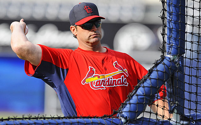 As a former Cardinals player, second-year manager Mike Matheny knows all about the St. Louis culture. (USATSI)