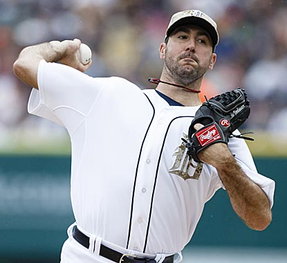 Justin Verlander gets through seven innings to end an unusual run of mediocre starts.  (USATSI)