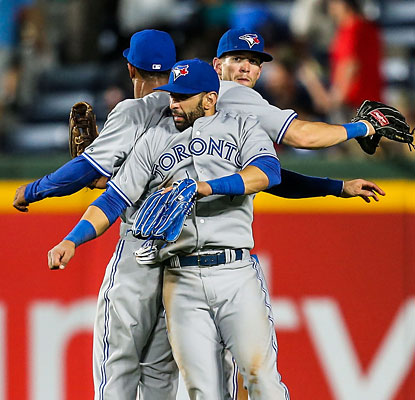 The AL East bottom-feeding Blue Jays make easy work of the NL East-leading Braves. (USATSI)