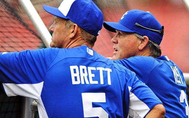Two big questions: Would George Brett want to manage? Are the Royals even going to fire Ned Yost? (USATSI)