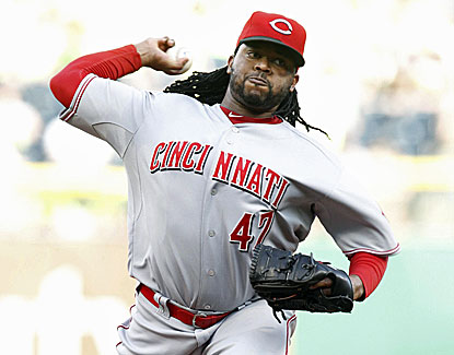 Johnny Cueto pitches a tidy eight innings, holding Pittsburgh scoreless on one hit with a walk and six strikeouts. (USATSI)
