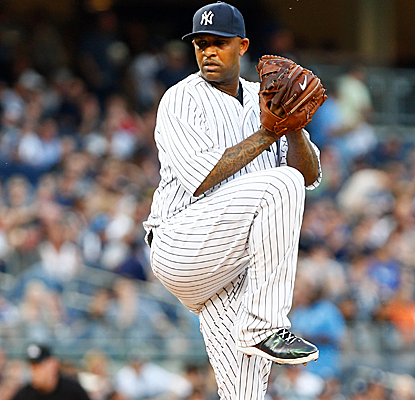 CC Sabathia tallies a season-high 10 strikeouts as the Yankees snap a five-game losing streak.  (USATSI)