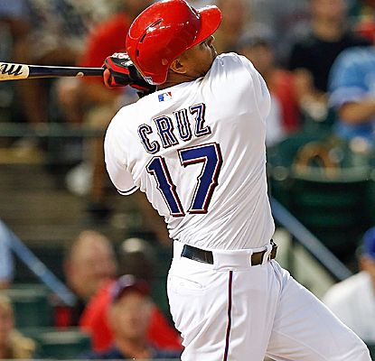 Nelson Cruz breaks a third-inning tie with a three-run homer as the Rangers cruise to victory.  (USATSI)