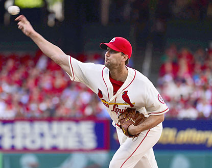 Adam Wainwright strikes out 10 and walks none for his 14th career complete game and third of the season. (USATSI)
