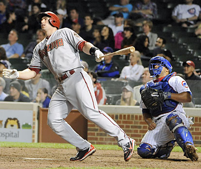 Paul Goldschmidt rocks Carlos Marmol and the Cubs with a tiebreaking grand slam in the eighth that breaks open the game. (USATSI)