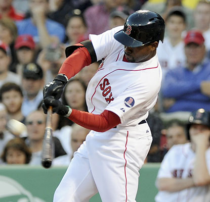 Jackie Bradley Jr., who hits his first career home run, is one of six Boston players to drive in multiple RBI. (USATSI)