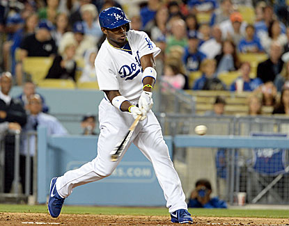 Los Angeles Dodgers rookie outfielder Yasiel Puig homers for the fourth time in his five career games. (USATSI)