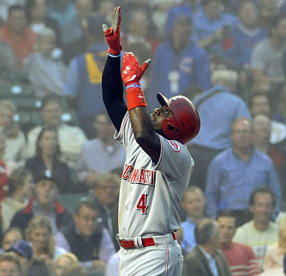 Brandon Phillips ties a career high with six RBI, which represents every run scored by the Reds on Monday night. (USATSI)